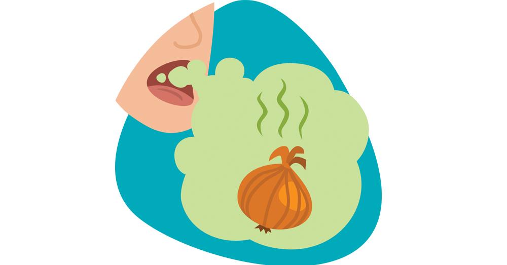 onion breath