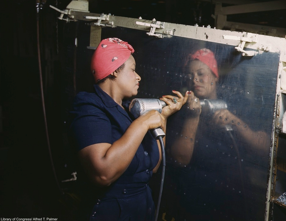 The Real Story Behind The Beloved Rosie the Riveter Poster from 1943