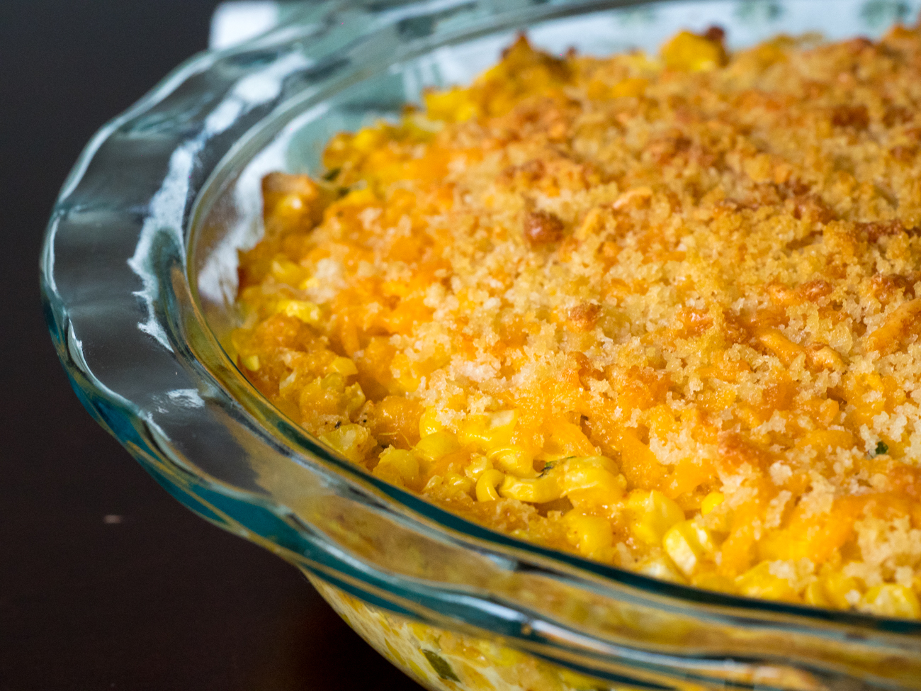 Cheddar Sweet Corn Pie Horizontal 1