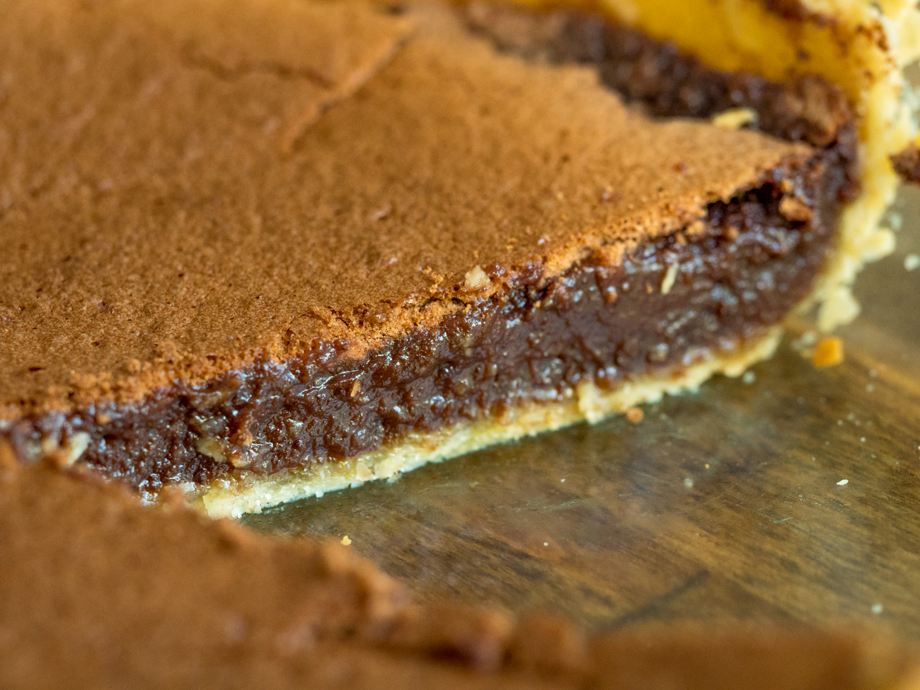 Chocolate Chess Pie Horizontal 2