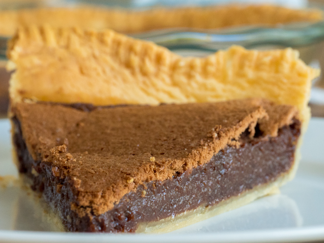 Chocolate Chess Pie Horizontal 4