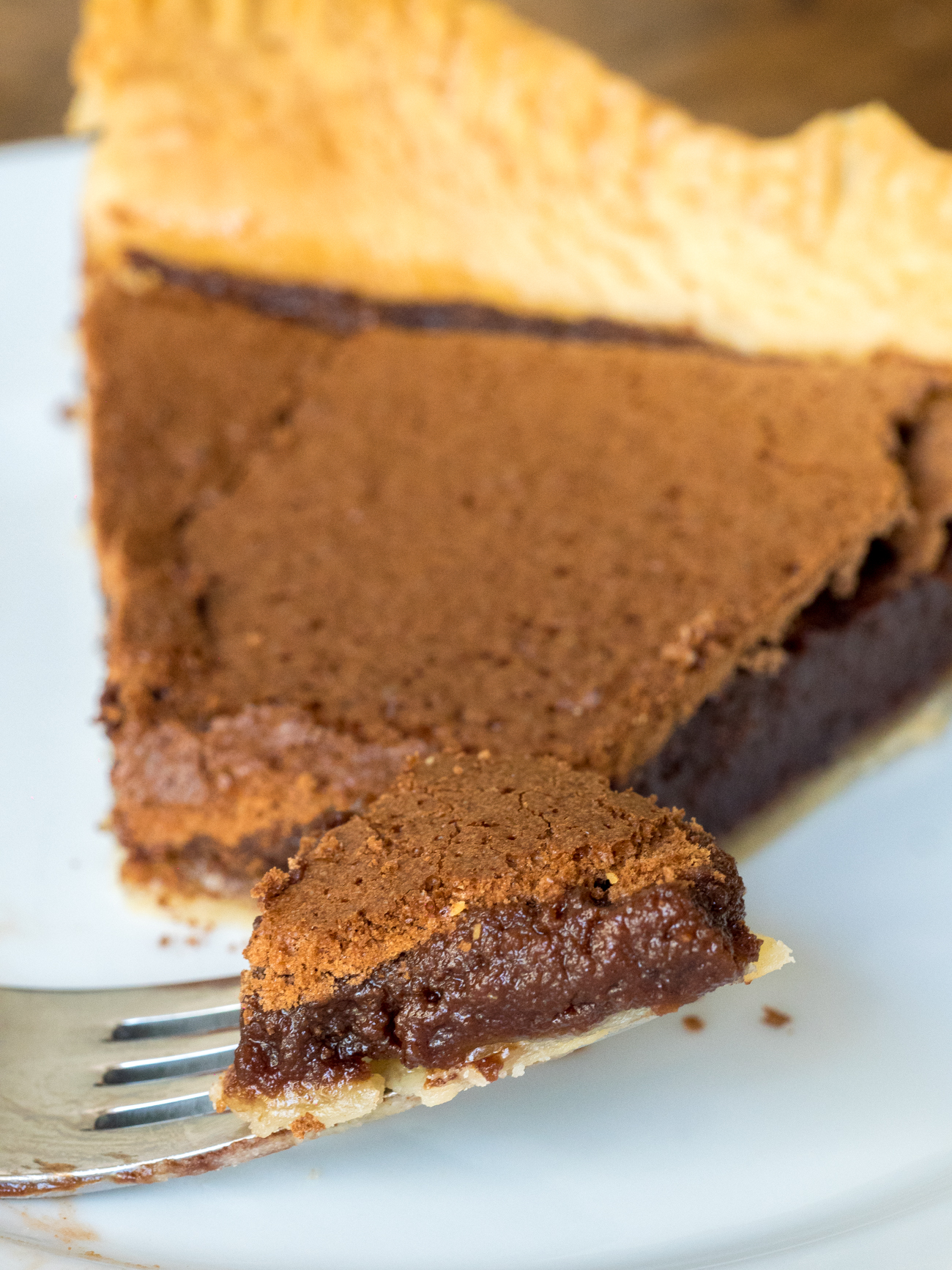 Chocolate Chess Pie Vertical 2