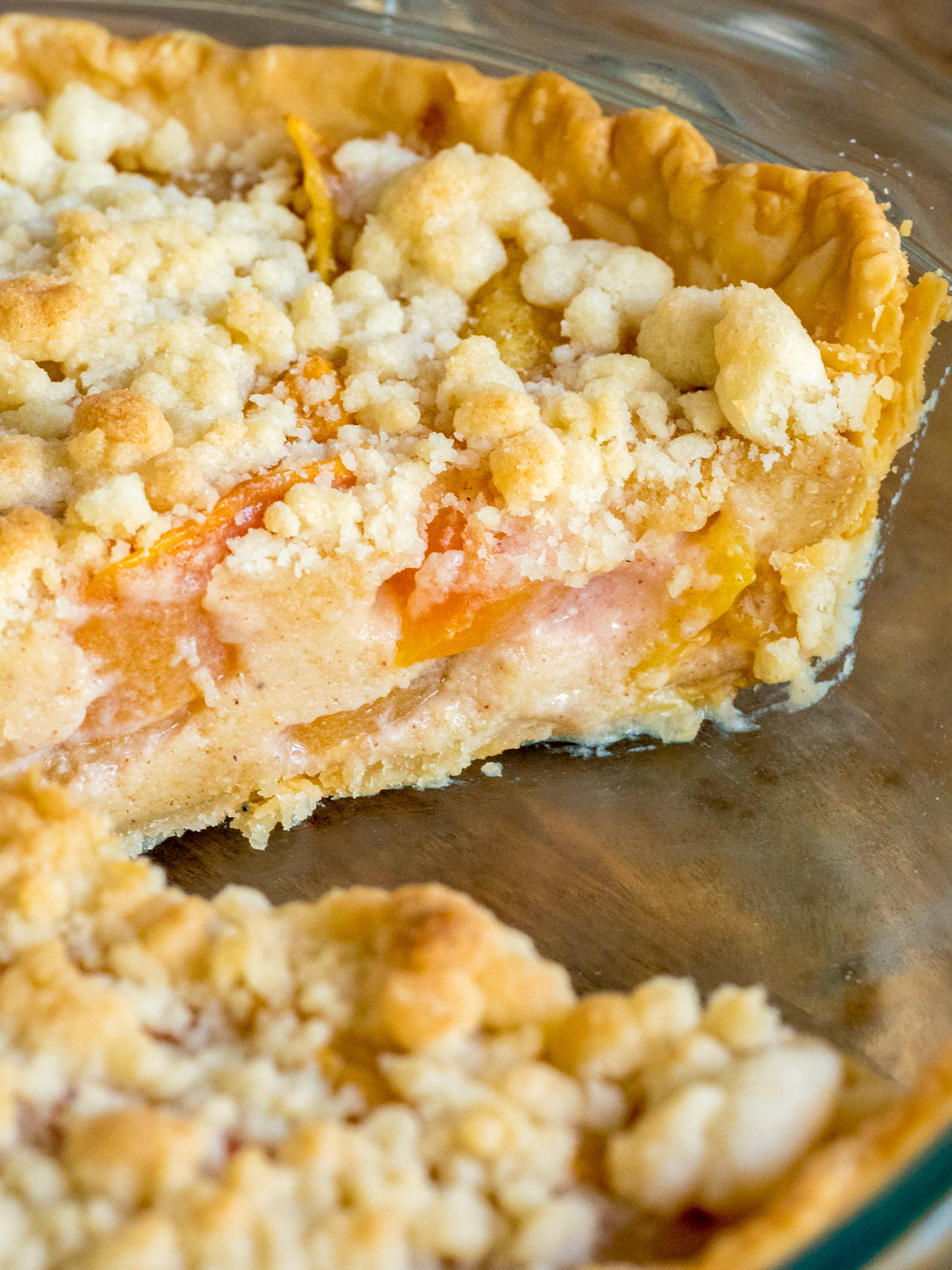 Custard Peach Pie Vertical 1