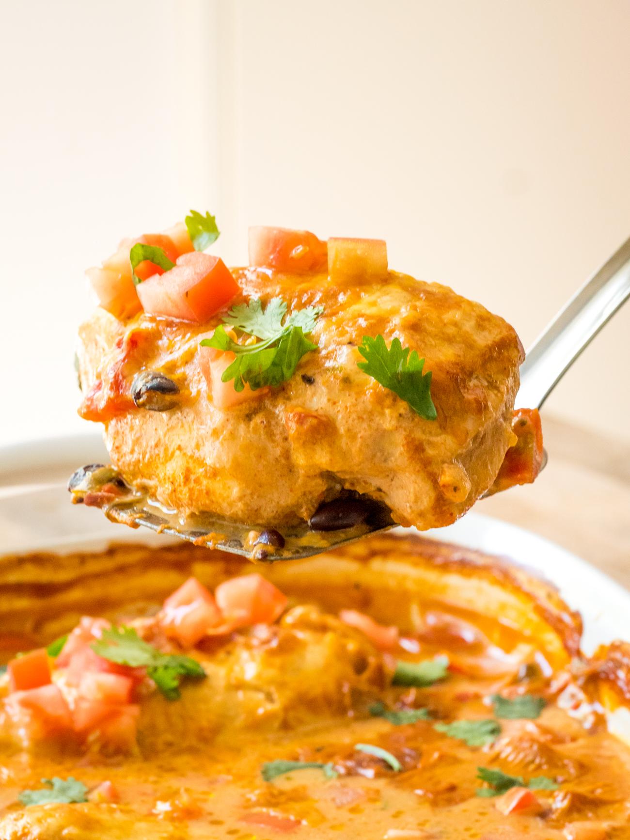 Queso Chicken Bake Vertical 6