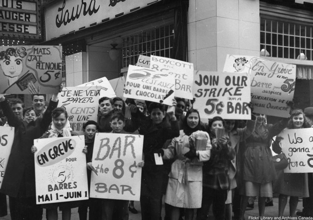 Canada's Bizarre 1947 Candy Bar Strike