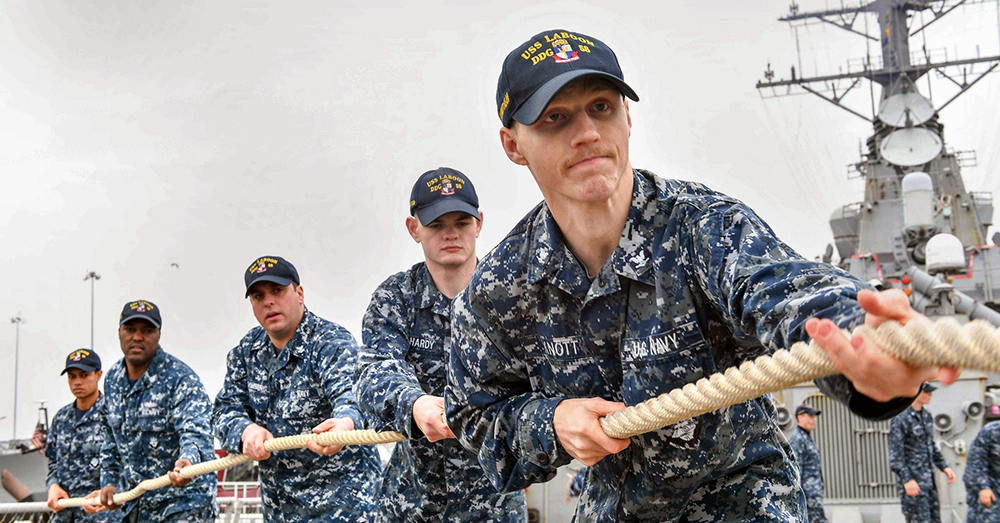 Photo: Flickr/U.S. Navy -- Service members may soon see a pay increase of 2.4 percent.