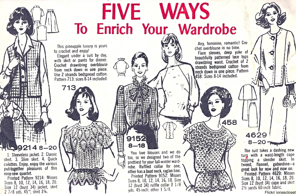 These Charming Vintage  Knit & Crochet Patterns Remind Us of Grandma!
