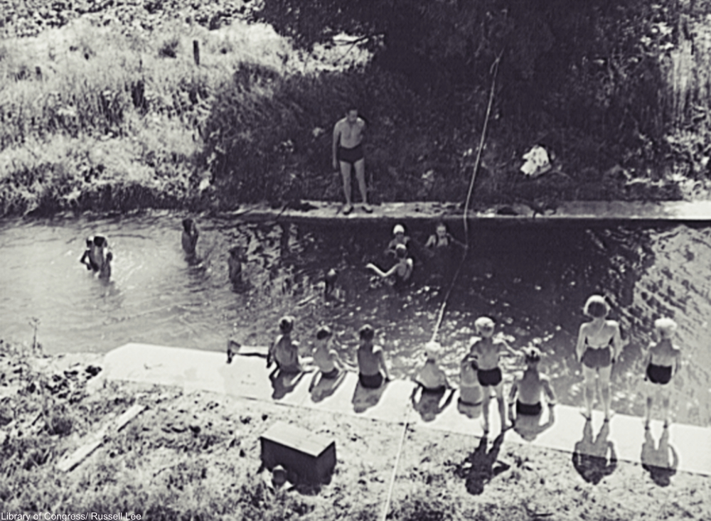 Summertime at the Swimming Hole Captured in Photos