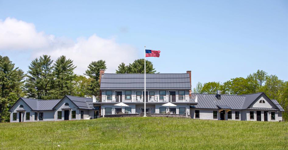 Photo: Facebook/SSG Travis Mills -- The Maine Chance Lodge & Retreat is now open to injured veterans and their families.