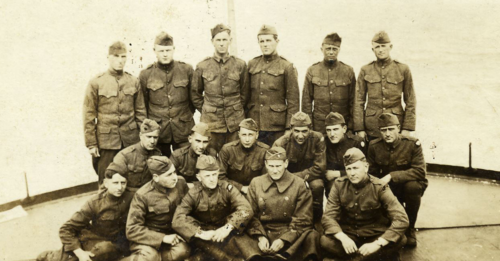 Photo: Facebook/82nd Airborne Division -- Original members from the 82nd Division in WWI, known as the All American Division for having soldiers from every state.