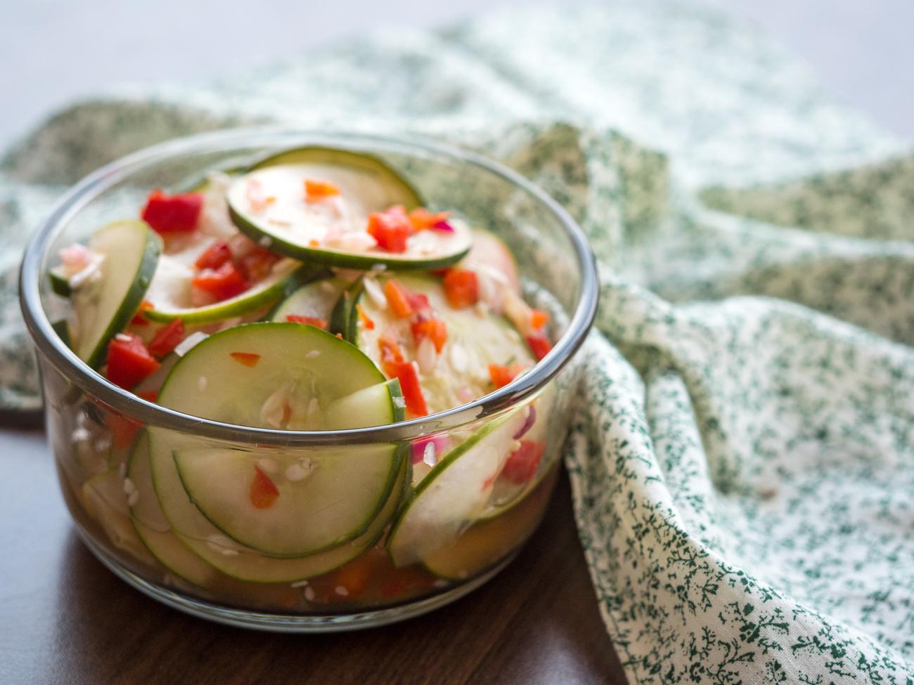 Asian Cucumber Salad Horizontal 5