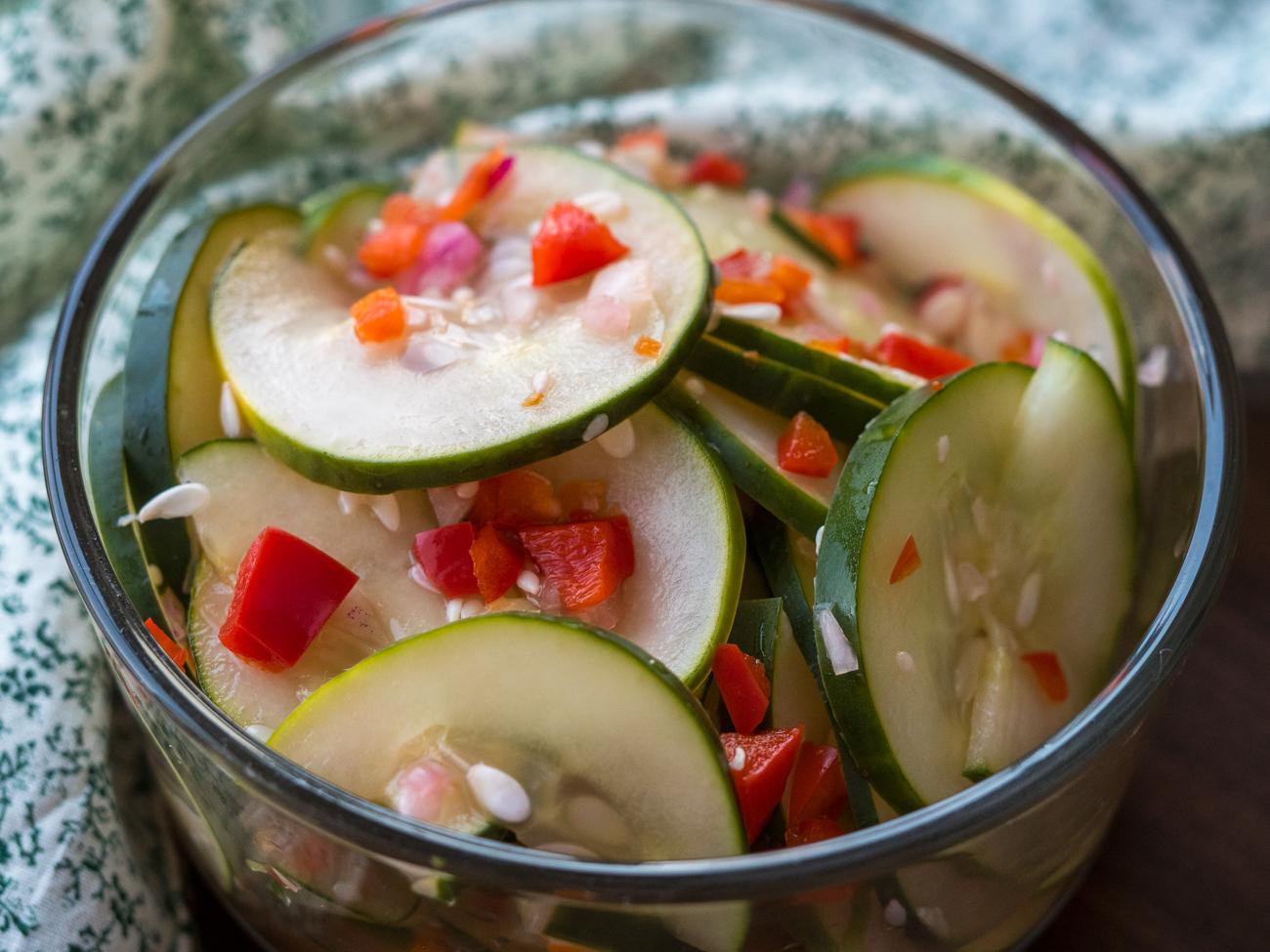 Asian Cucumber Salad Horizontal 7