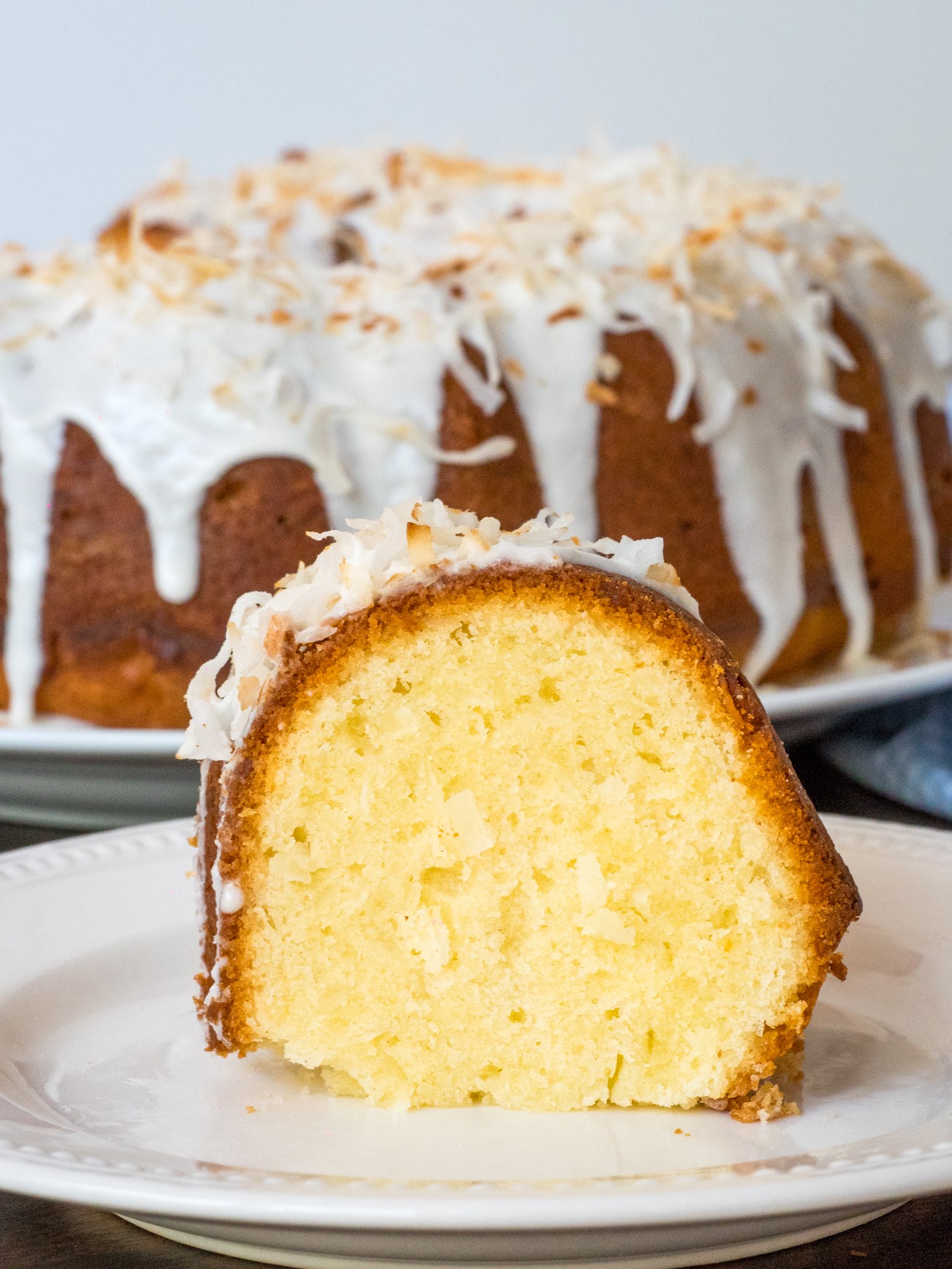 Coconut Bundt Cake Vertical 5