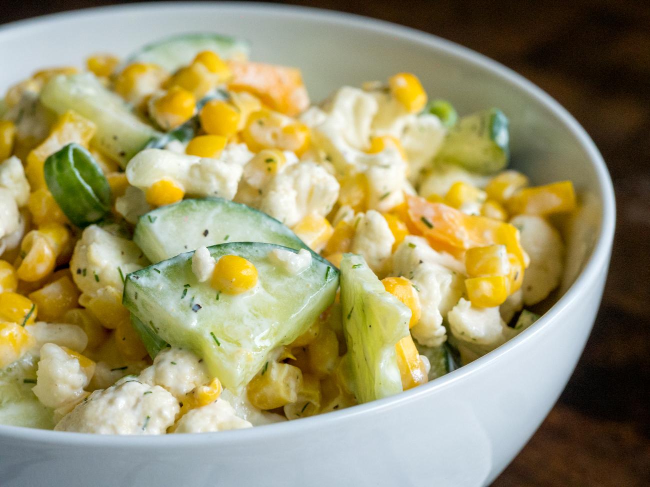 Creamy Cauliflower Salad Horizontal 3