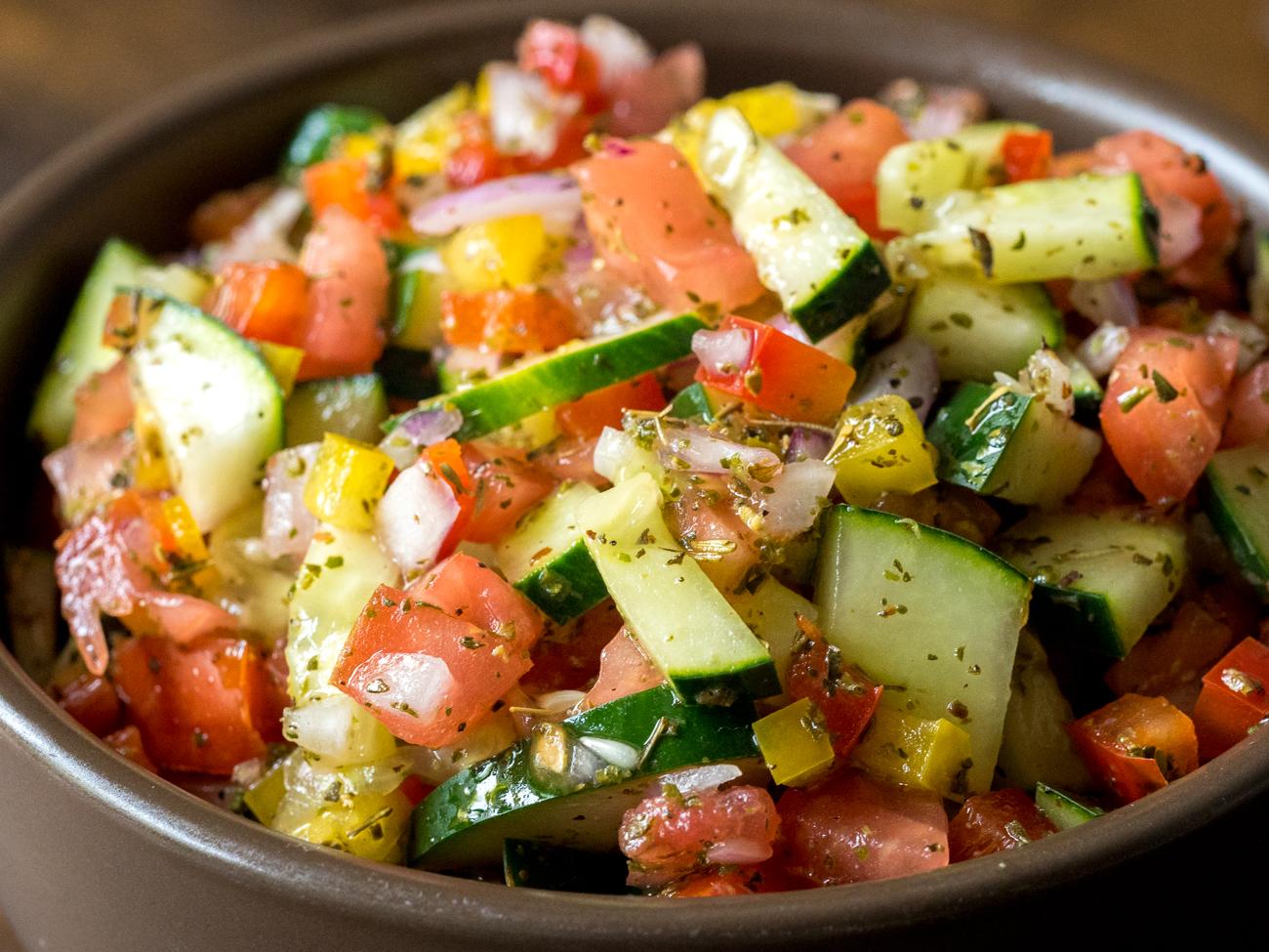 Israeli Salad Horizontal 1