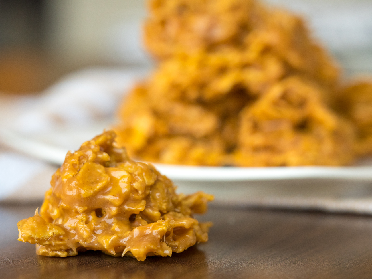Peanut Butter Corn Flake Cookies Horizontal 5