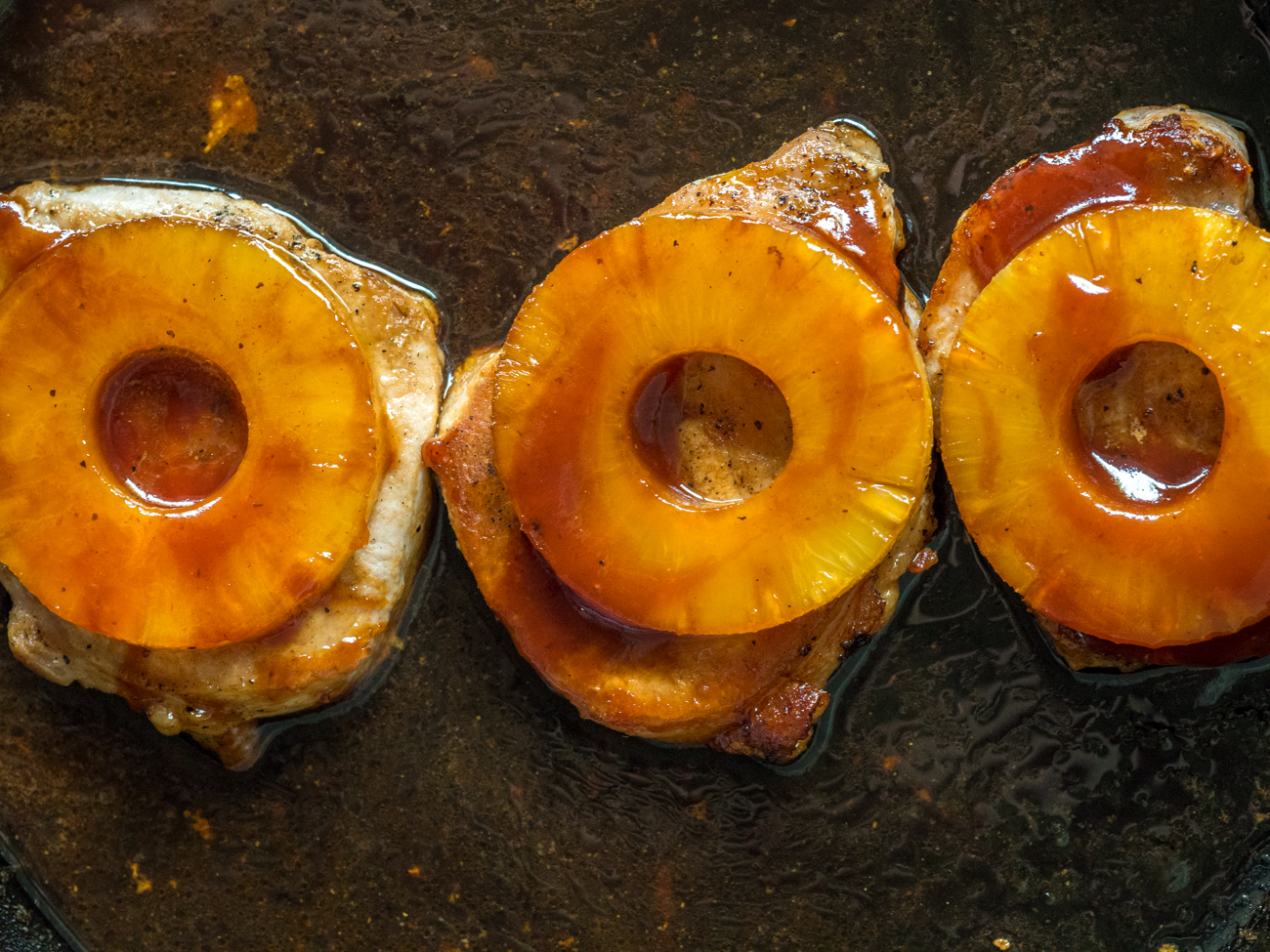 Pineapple Pork Chops Horizontal 6
