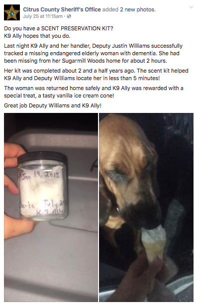 Photo: Facebook/Citrus County Sheriff's Office