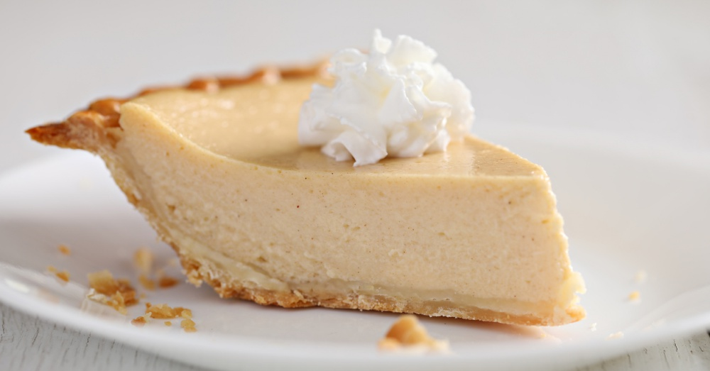 Slice Of Chess Buttermilk Pie
