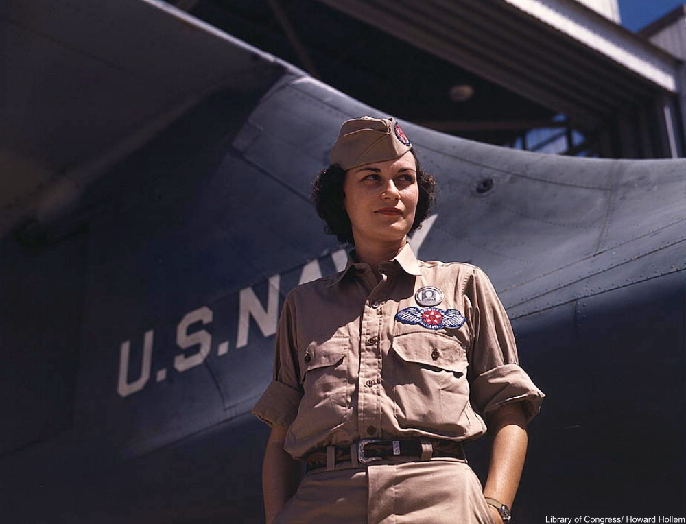 World War II in Stunning Color Photographs