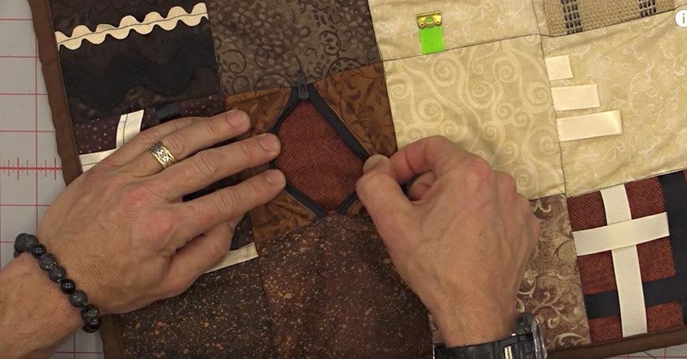 fidget quilt feature