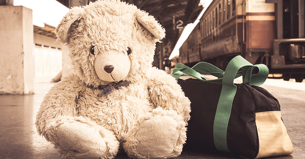 Photo: AdobeStock/napatcha -- Together We Rise Sweet Cases come with a duffle bag, blanket, teddy bear and much more.