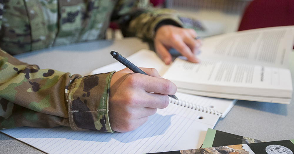 Photo: U.S. Army/Nell King -- The new GI Bill gets rid of the time limit and expands benefits for veterans, spouses and dependents.