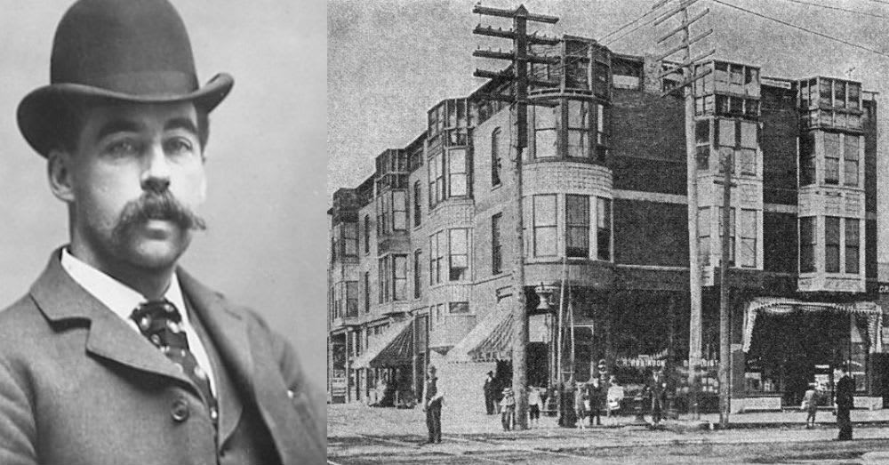 The Sinister Story Of H H Holmes And His Murder Castle Dusty