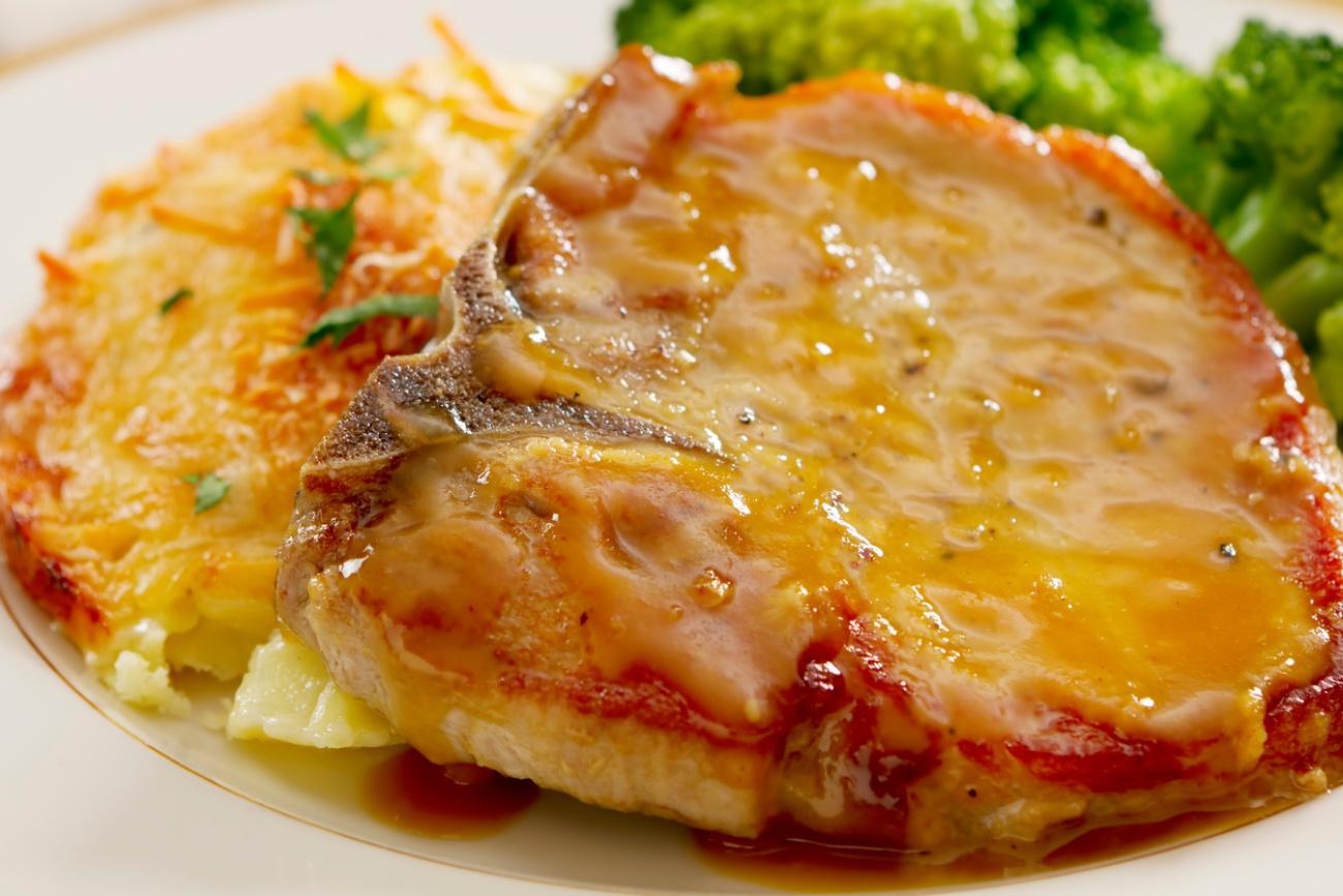 Baked Honey Mustard Pork Chops – 12 Tomatoes