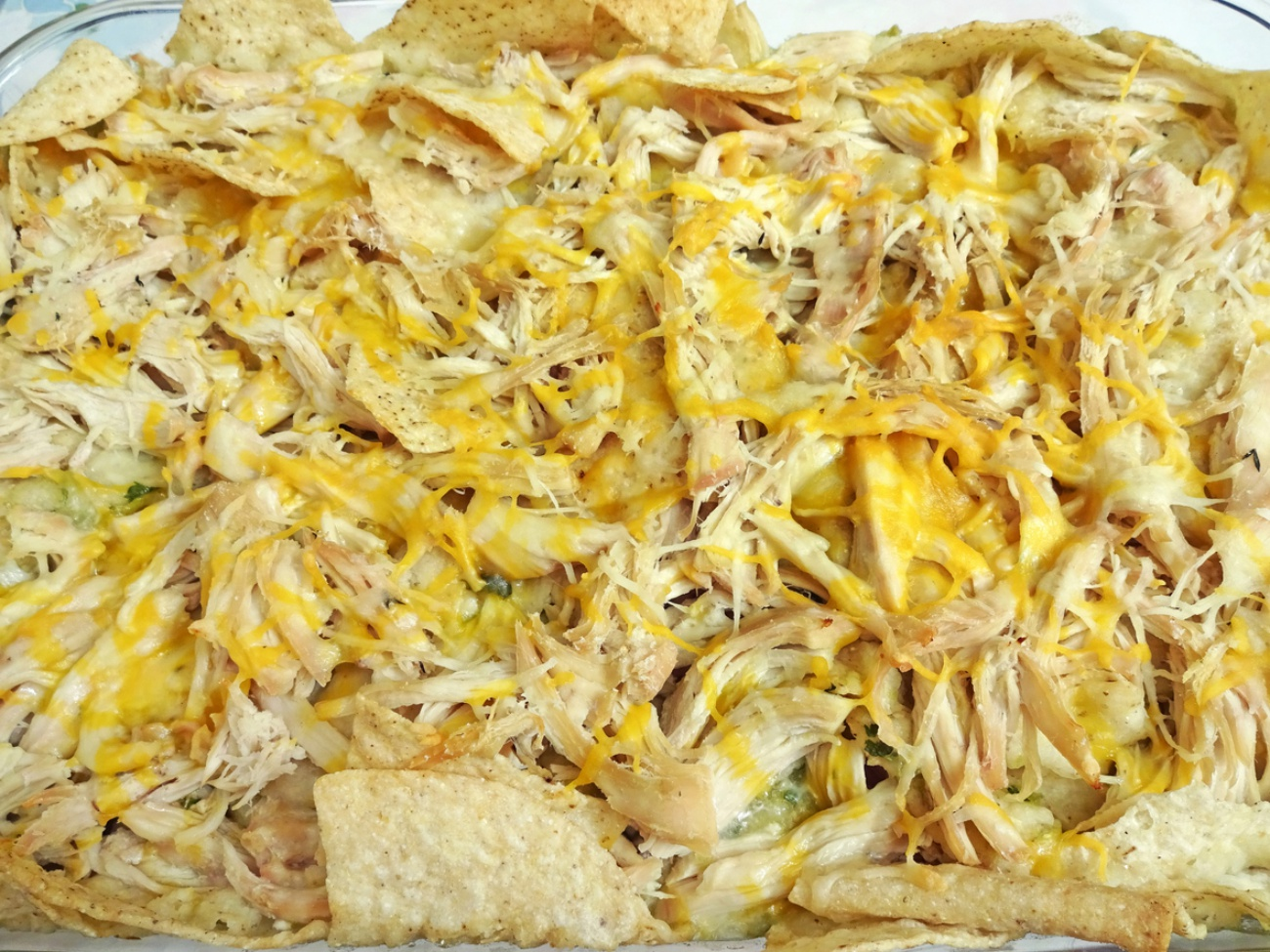 Chilaquiles Casserole Dish
