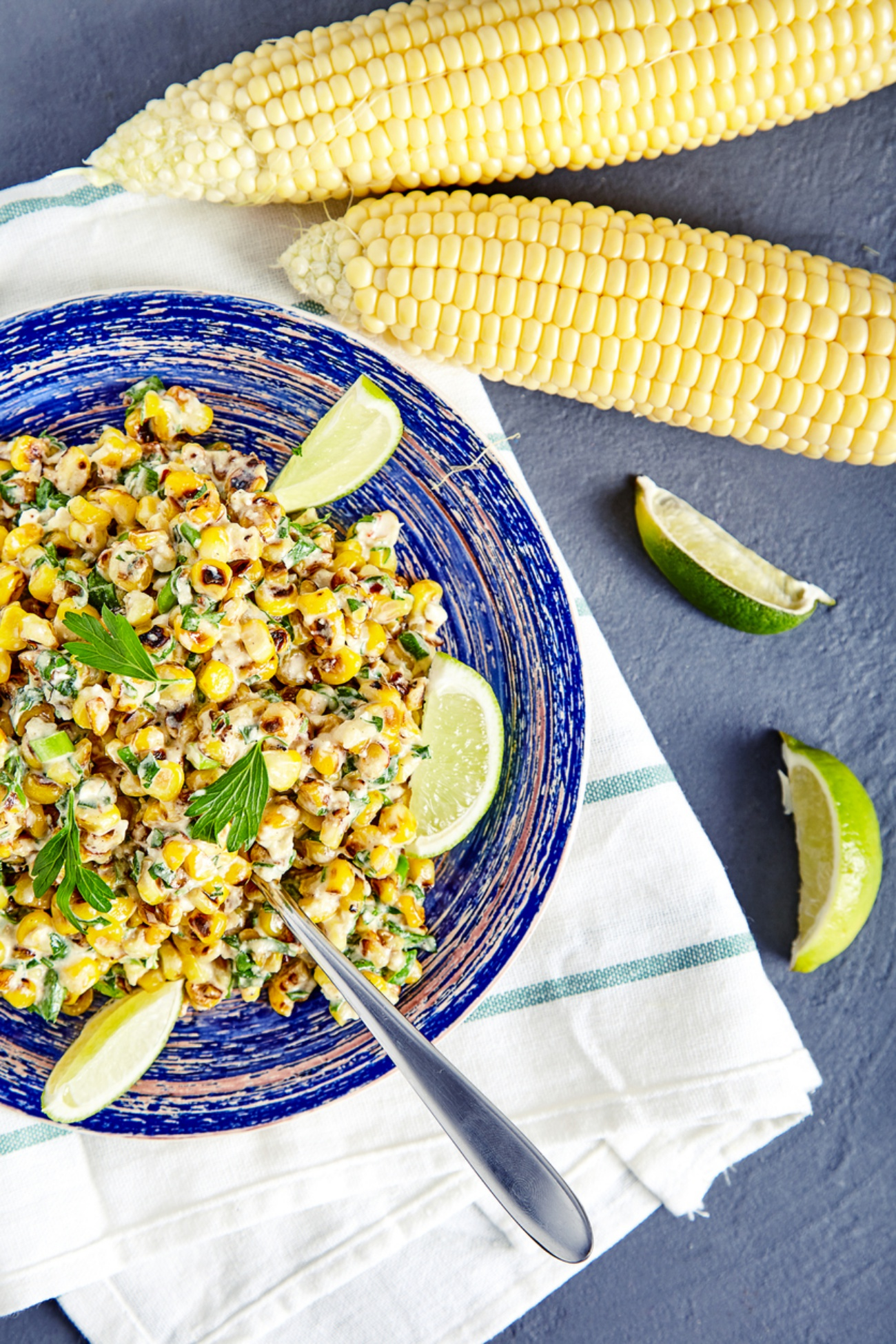 Homemade Mexican Corn Salad
