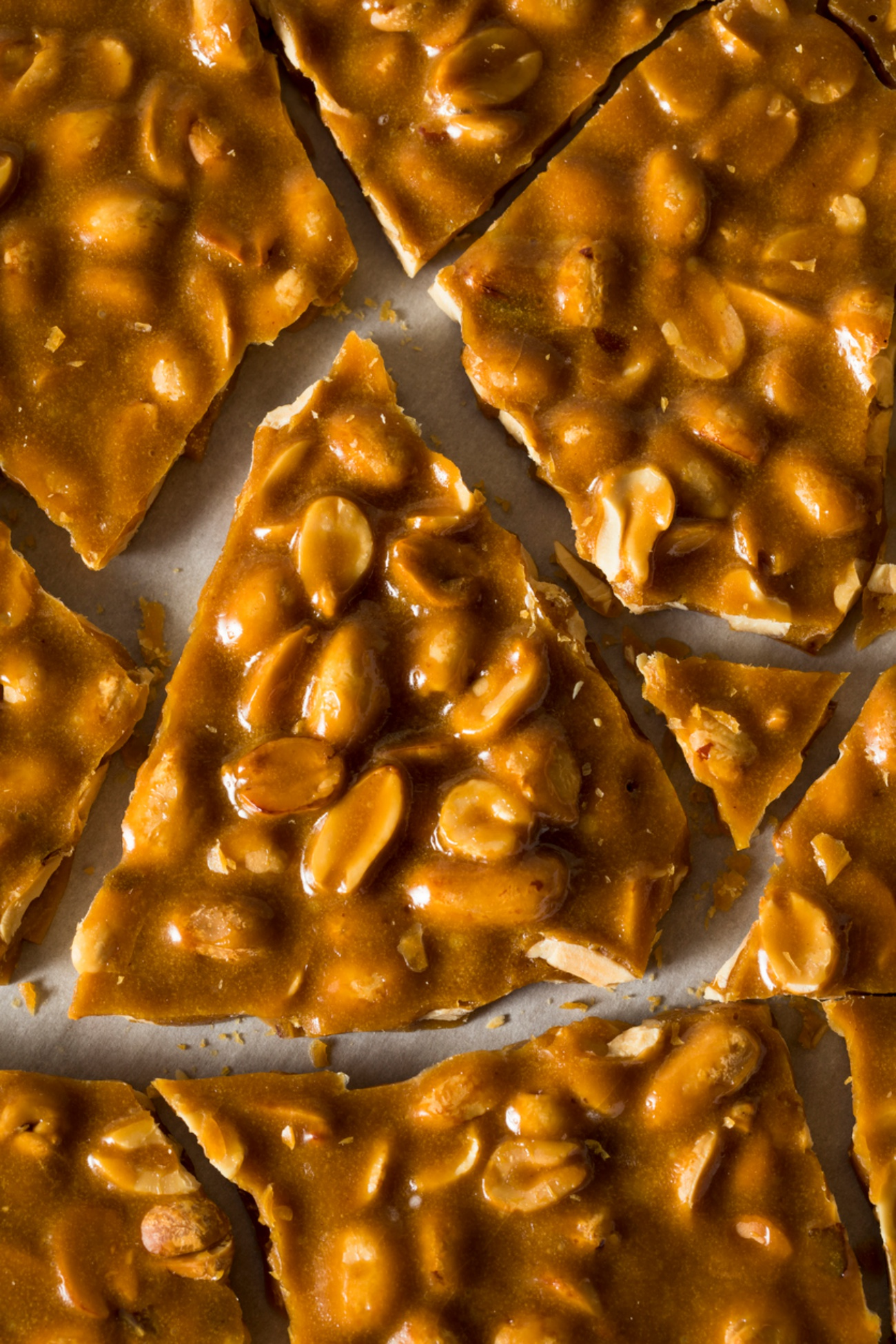 Homemade Holiday Peanut Brittle