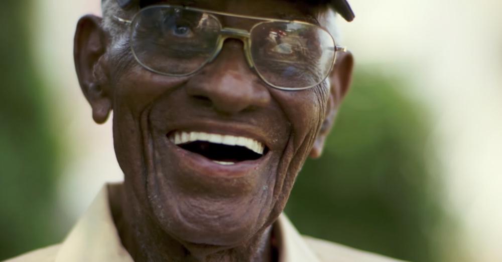Photo: YouTube -- Richard Overton, 111, is America's oldest WWII veteran.