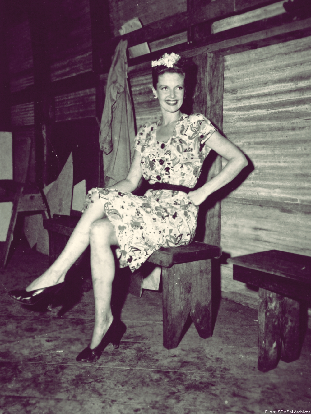 The Pin-up Girls of WWII - Not Always What We Expect!