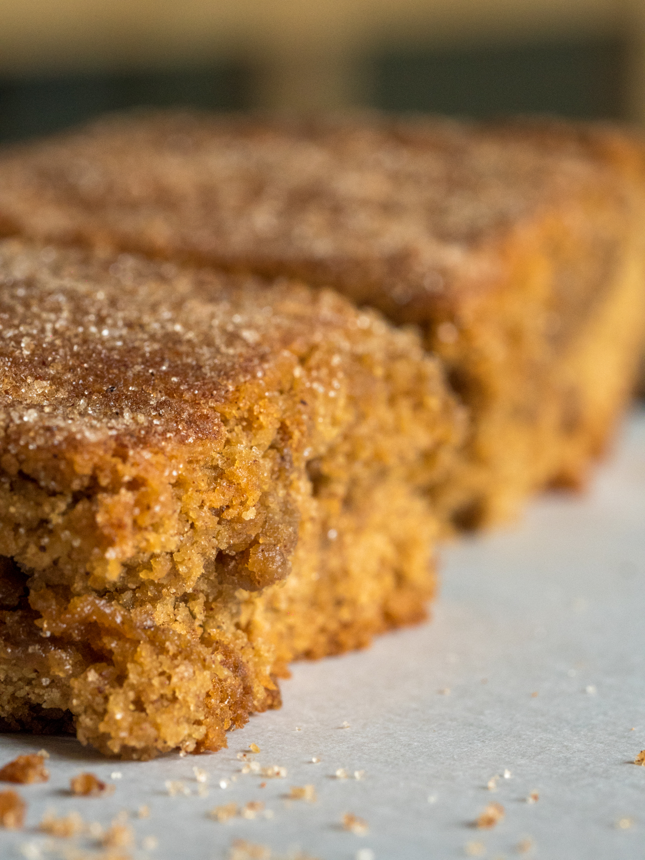 Cinnamon Blondies Vertical 4