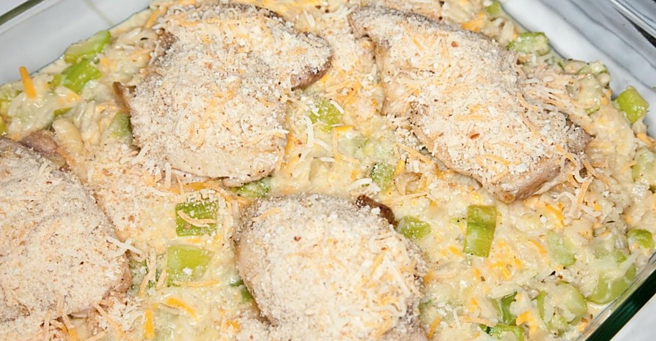 Creamy Chicken Casserole Main