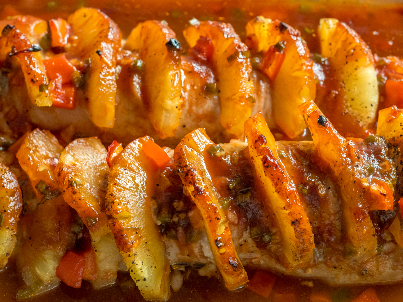 Pineapple Pork Loin Horizontal 6