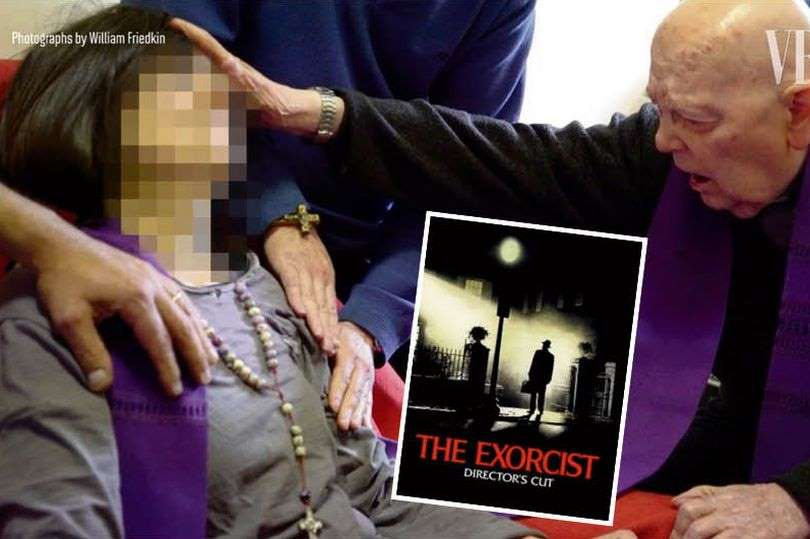 Fr. Gabriele Amorth performs on exorcism on an identified woman in new documentary
