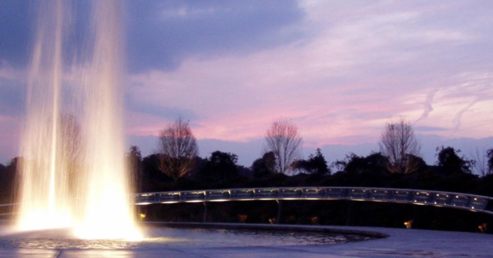 Photo: The Garden of Reflection 9/11 Memorial --