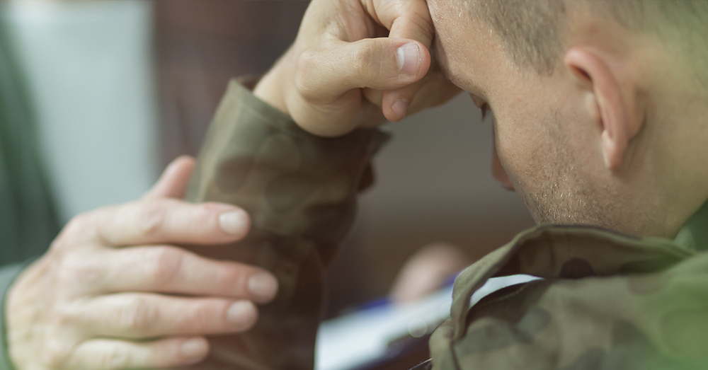 Photo: AdobeStock/Photographee.eu -- A recent RAND study found alarming gaps in the military's mental health services.