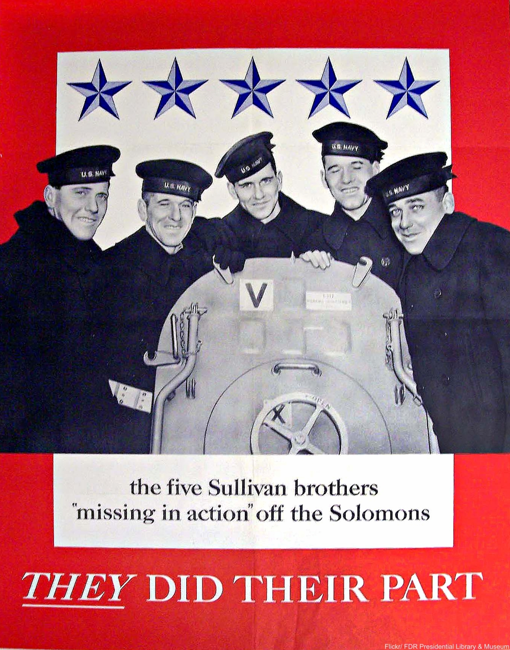 The Sad Story of the 5 Sullivan Brothers