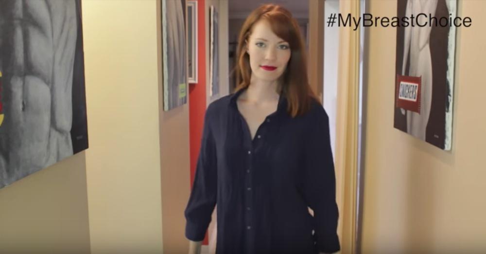 Photo: YouTube/My Breast Choice