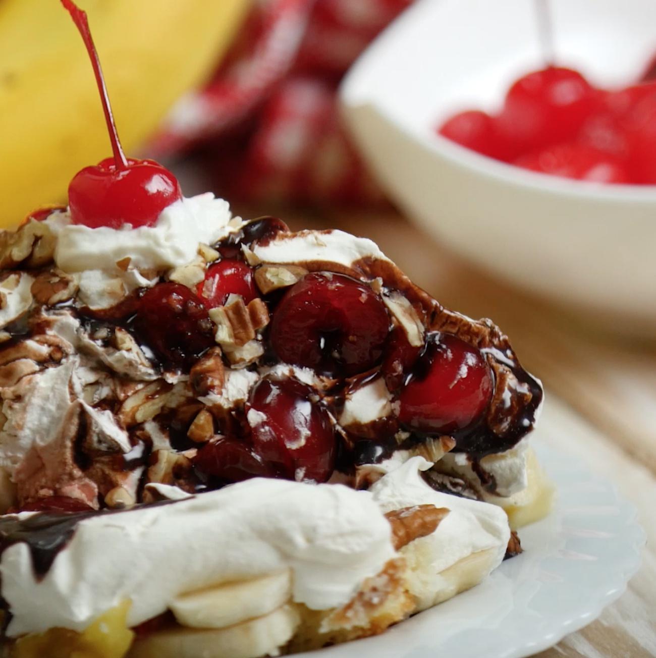 Banana Split Trifle 2