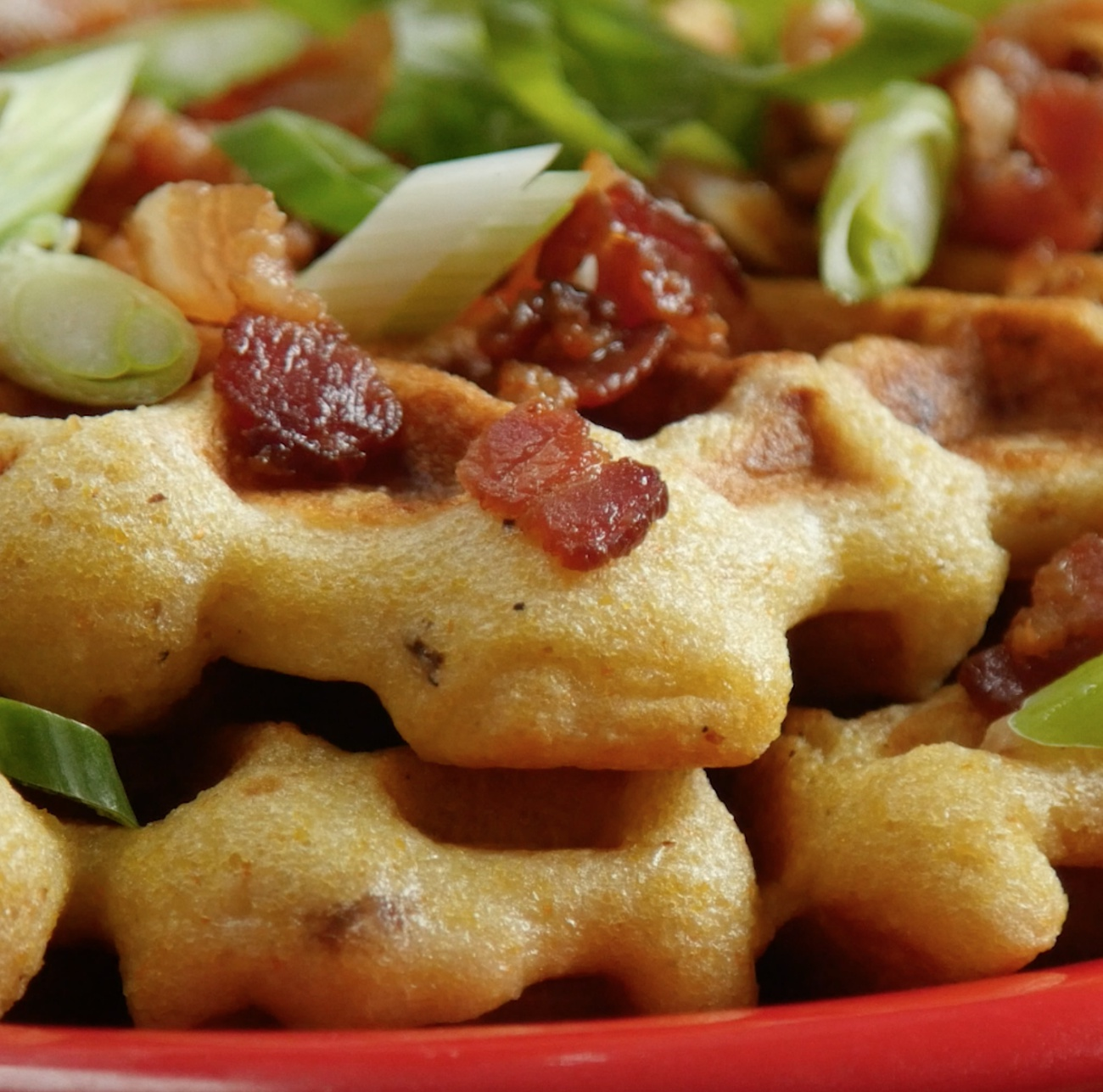 Chicken in Waffles 2