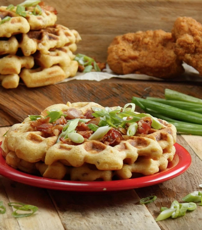 Chicken in Waffles 3