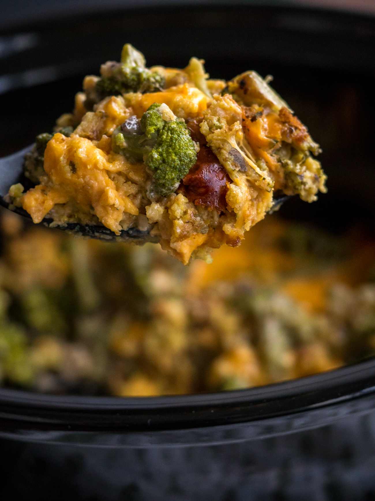 Crock Pot Broccoli Casserole Vertical 7