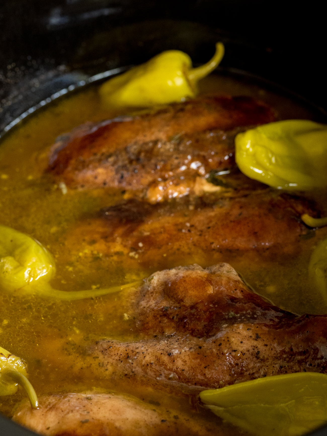 Slow Cooker Mississippi Chicken Vertical 2