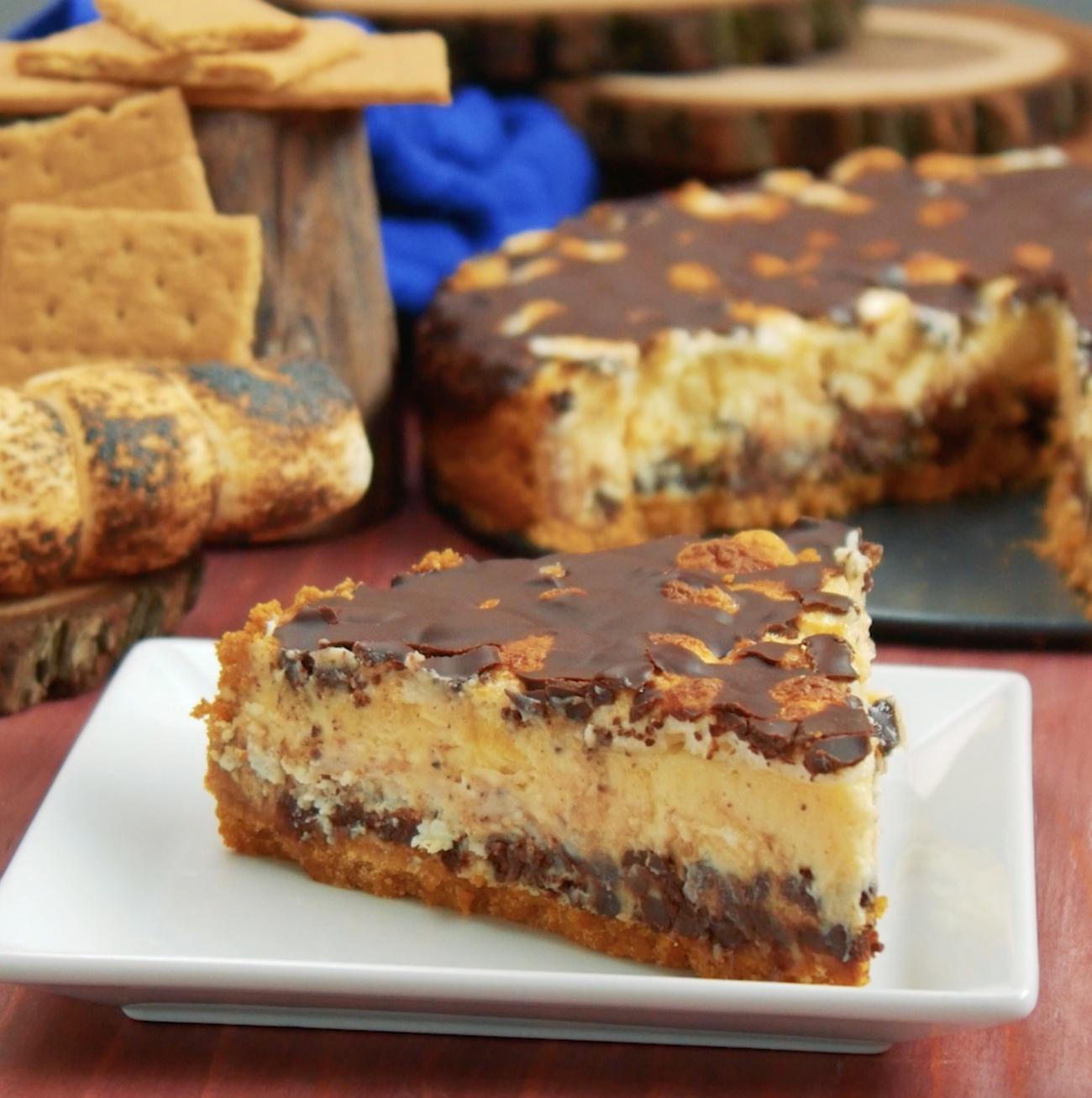 Smores Cheesecake 1