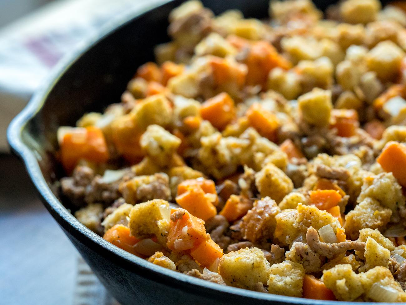 Sweet Potato Turkey Skillet Horizonta l2