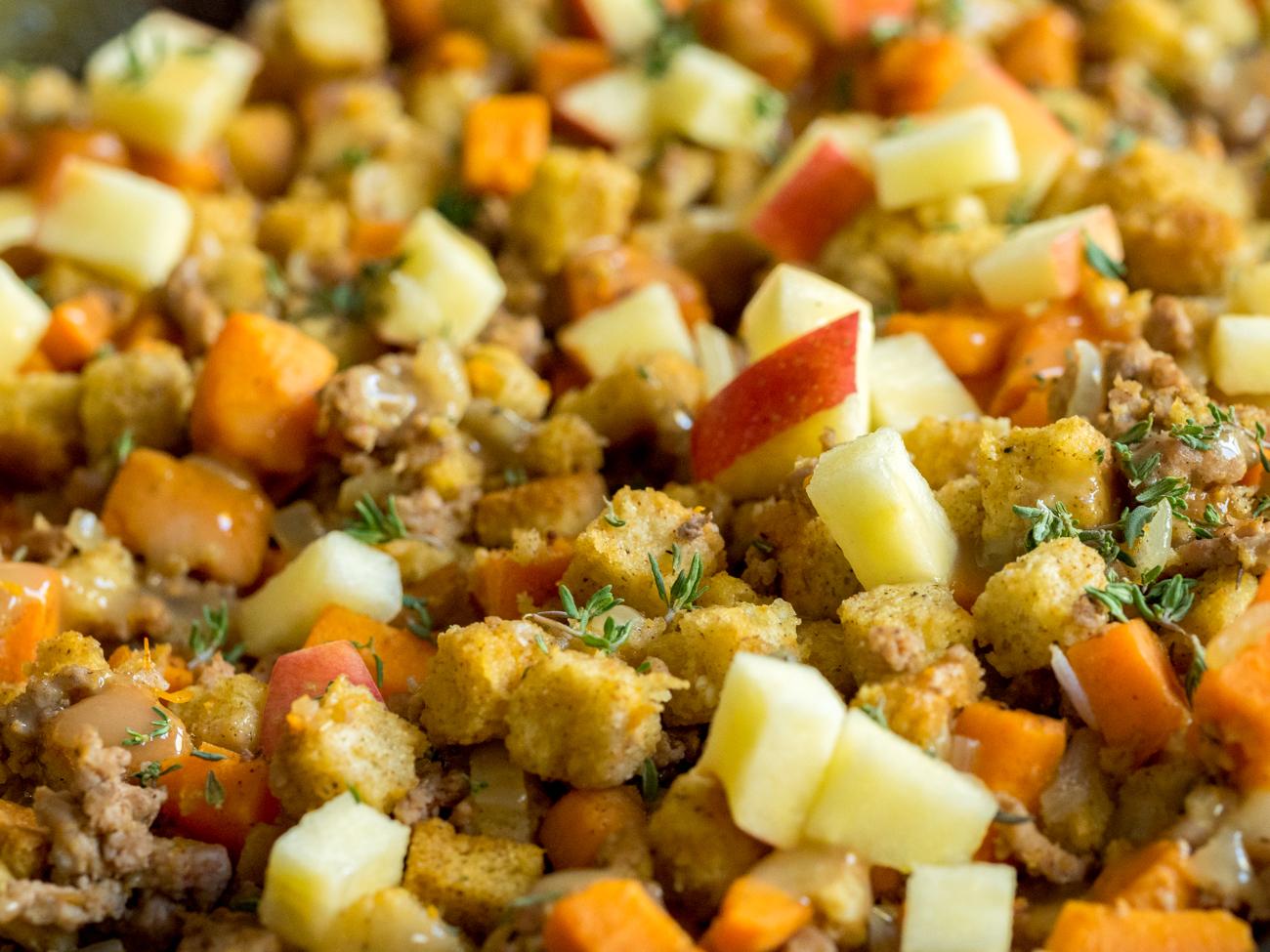 Sweet Potato Turkey Skillet Horizontal 7